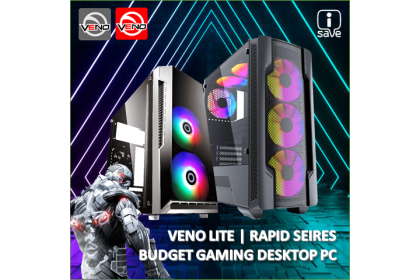 VENO | RGB BUDGET GAMING DESKTOP PC BUNDLE PACKAGE SET ( GTX1650 SUPER / GTX1660 SUPER / RTX2060 / RTX3060 )